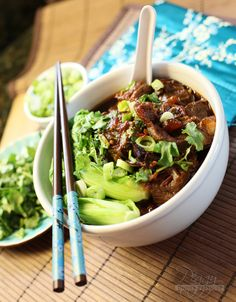 In preparation for the Chinese New Year that's coming up this week on February 4th, 2011, I have decided to make some Taiwanese Niu Row Mein (Taiwanese Beef & Noodles). This will be our fifth …