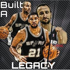 San Antonio Spurs Built A Legacy