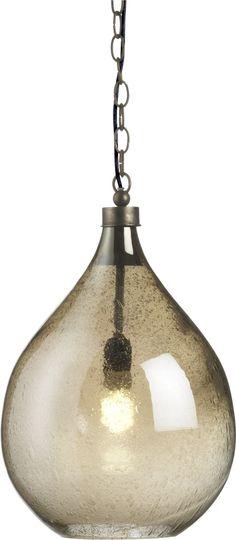 "Glint Pendant Lamp - Kitchen Island 13"" dia. x 18""H | Crate and Barrel"