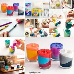 DIY crayon candles candles diy crafts home made easy crafts craft idea crafts ideas diy ideas diy crafts diy idea do it yourself diy projects diy craft handmade craft candle