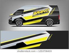 wrap design for company car and services. Vehicle Signage, Fox Logo, Van Wrap, Van Design, Signwriting, Cool Vans, Cargo Van, Branding, Lightning Mcqueen
