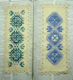 Hardanger Bookmarks | by glasscellar
