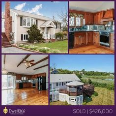 Sandra Siciliano, Realtor helped her clients find this beautiful Scituate home with lovely views. Are you looking to find a home? Give us a call today! #sold #Scituate #realestate #Dwell360