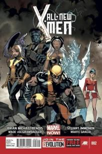 All New X-Men #2 Brian Michael Bendis Stuart Immonen ---> shipping is $0.01 !!!