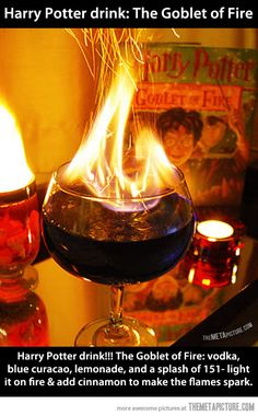 For all those Harry Potter fan's, this is the drink for you