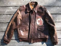 Sold+on+eBay:+Vintage+WW2+A2+Leather+Jacket+w/+Patches+for+$1675