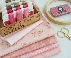 pink fabric pull - Pretty by Hand
