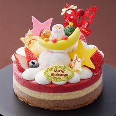 6種類の味を重ねたアイスケーキ。【クリスマス届け専用】【高島屋限定】クリスマスアイスデコレーション