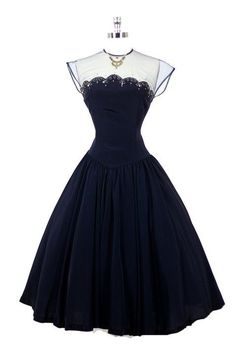 Vintage black dress- Stunning... simply stunning. by maureen