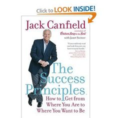 The Success Principles by Jack Canfield - Reading this book has been the best thing I've ever done. If you're searching for something more & tired of trying to fight the negative emotions and overwhelm, this book is for you! Good Books, Books To Read, My Books, Amazing Books, Best Self Help Books, Jack Canfield, Books For Self Improvement, Success Principles, Motivational Books
