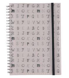 HEMA Notizbuch Buchstaben, DIN A5 – online – immer überraschend niedrige Preise!