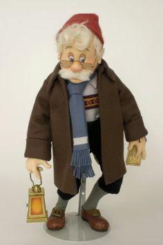 Geppetto Searches for Pinocchio Ed Disney R John Wright Doll No Reserve   eBay