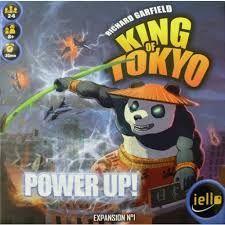 Afbeeldingsresultaat voor king of tokyo power up board game