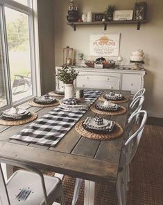 Are you searching for ideas for farmhouse living room? Check this out for perfect farmhouse living room pictures. This amazing farmhouse living room ideas will look totally superb. Solid Wood Dining Table, Dining Tables, Wood Tables, Küchen Design, Design Ideas, Clever Design, Design Styles, Design Color, House Design