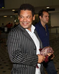 I'm A Celebrity: Craig Charles lands in Oz ahead of the jungle