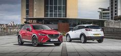 The Mazda CX-3 small SUV, released in the UK on 19th June 2015...