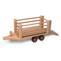 Fagus Hay Wagon Accessory For Wooden Toy Tractor