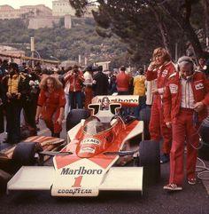 motorsportsarchives: James Hunt - Monaco 1977