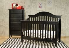 The DaVinci Jayden 4-in-1 Convertible Crib with Toddler Rail gives your child a safe haven for years to come. This crib is classically and stylishly made and it is very easy to assemble.