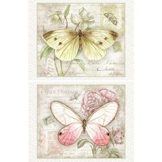 Carte Postale Butterflies Deluxe Note Cards , 2080512 | Lang
