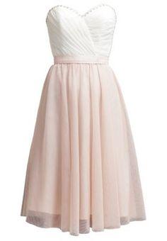 Juhlamekko - cream white/rose blush