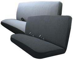 Terry Velour Bench Seat Covers - ALI67-6354-SERIES Bench Seat Covers, Seat Cleaner, Moving To Florida, Rear Seat, Black, Seat Covers, Black People