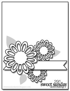 Sweet Sunday Sketch: Sweet Sunday Sketch Challenge 291 No Time Limit