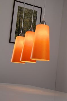 Orange Pendant Light Adjule Hanging Lamp Pendantlight Lighting Http Www