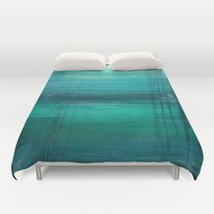 Lagoon Duvet Cover by Liz Moran | Society6