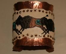 Buffalo Copper Cuff Bracelet | Meredith Lockhart Collections