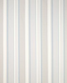 Laura Ashley Eaton Stripe Dove Grey Seaspray Fabric