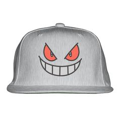 86337e71189a9 Gengar - Pokemon Embroidered Snapback Hat Pokemon Go