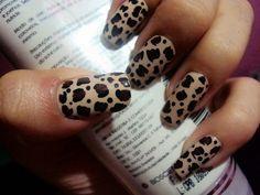 animal print nail art design black - Google Search