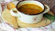 Hlivová minestrone - Powered by Salsa, Soup, Mexican, Beef, Tableware, Ethnic Recipes, Red Peppers, Meat, Dinnerware