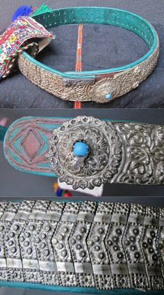 Women's belt. Part of a traditional festive costume from the Turkish villages… Costume Collection, Nickel Silver, Ethnic Jewelry, Costume Accessories, Bulgaria, Costumes For Women, Traditional Outfits, Belt Buckles, Belts