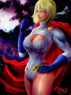 Power Girl by on DeviantArt Power Girl, Artworks, Wonder Woman, Deviantart, Costumes, Superhero, People, Anime, Dress Up Clothes