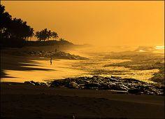 Coconut Grove Beach, just outside Elmina, in Ghana