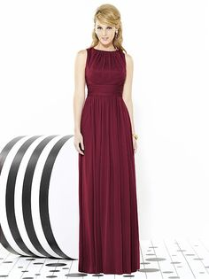 After Six Bridesmaids Style 6709 http://www.dessy.com/dresses/bridesmaid/6709/?color=burgundy&colorid=8#.Vf8fTPlVhBc