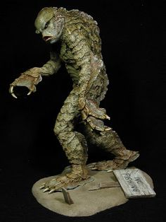 SWRiojas: Classic Monsters - The Creature