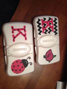Baby wipe case.  ~Don't hate me 'cuz I'm crafty~