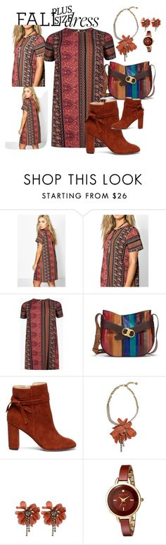 """""""so cute love it"""" by mikaela-foreman on Polyvore featuring Boohoo, Tory Burch, Sole Society, Lanvin and Anne Klein"""