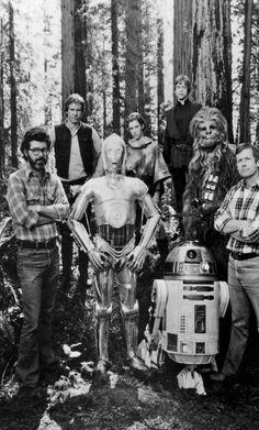 21 imágenes que todo cinéfilo debe ver del detrás de cámaras de Star Wars - Diviértete - Espacio360