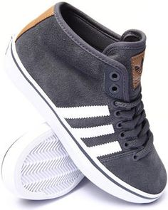 Adidas - Women Grey Adria Mid Sneakers