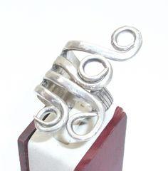 Antiker Gabelring Gr.20,1 mm  gebogen SR152 von Atelier Regina auf DaWanda.com