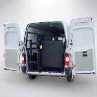 Aplicação: em veículos com P.B.T. acima de 3.000 kg.  Mesa: com 800/900/1.000 mm de largura e 900/1.000 mm de comprimento (750/850 + 150).  Acionamento eletroidráulico 12 ou 24 VDC, conectado ao sistema elétrico do veículo.