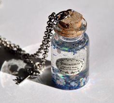Collana pozione magica  Veritaserum  in bottiglia di Minervastyle