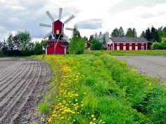 Windmill Aittomäki, Jalasjärvi Finland.