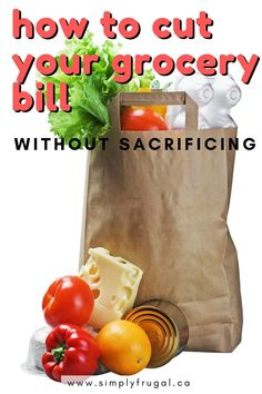 It's totally possible to eat better quality healthy food while spending less on groceries. Here are some ways for you to cut your grocery bill without sacrificing taste or your health. Grocery Savings Tips, Grocery Items, Snack Recipes, Healthy Recipes, Best Money Saving Tips, In Season Produce, Frugal Meals, Grow Your Own Food, Fruits And Veggies