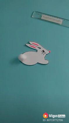 Coelhinho de EVA #pascoa #artesanato #coelho #coelhinho #eva #diy Christmas Crafts For Kids To Make, Diy Videos, How To Make, Gifts, Christmas Crafts For Kids, How To Make Crafts, Bunny Rabbit, Presents, Favors