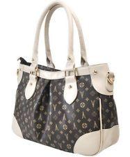 New style vogue brown Soft PU Leather women's single shoulder handbag Tote bag